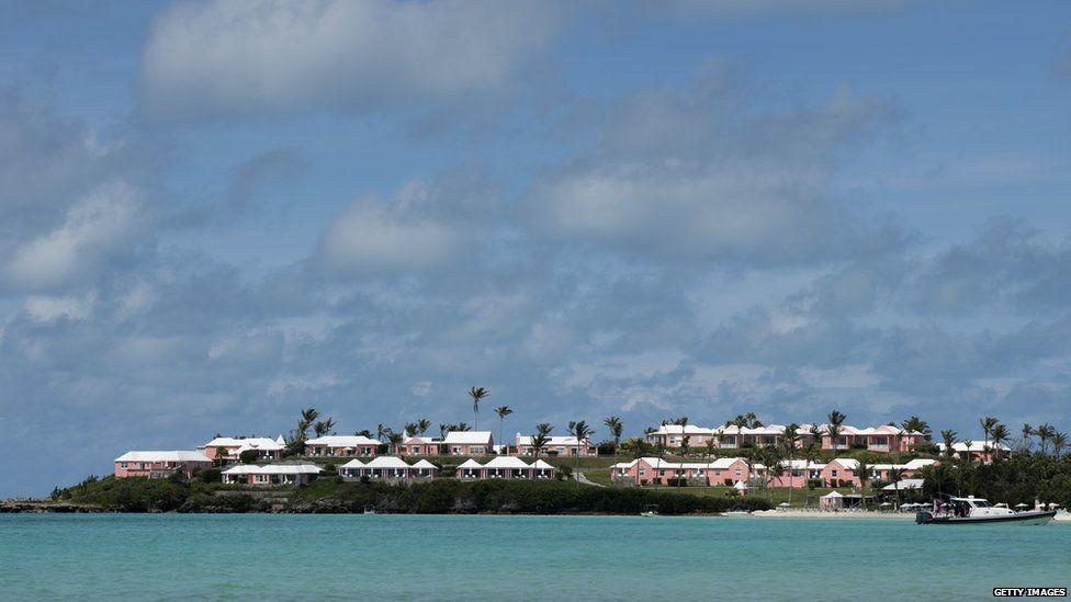 A beach in Bermuda