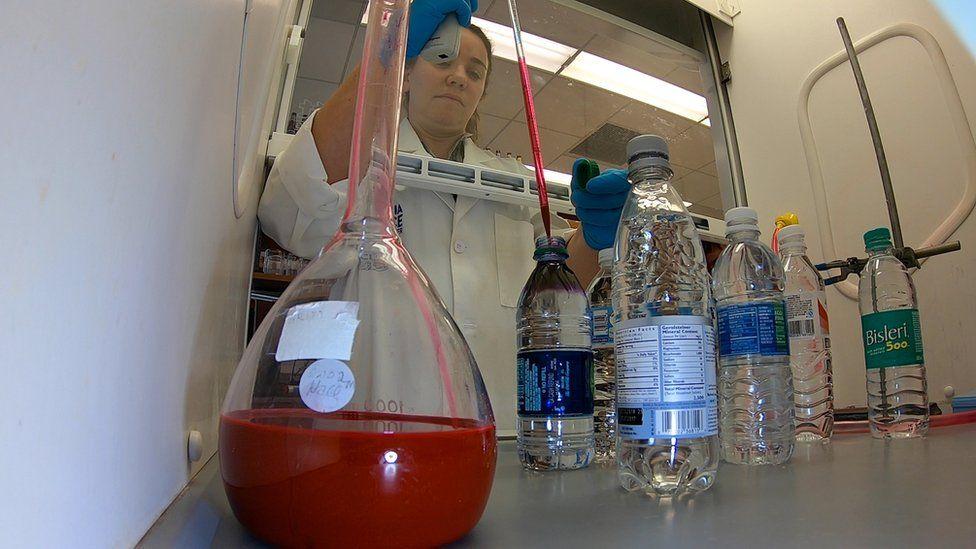 Testing bottles