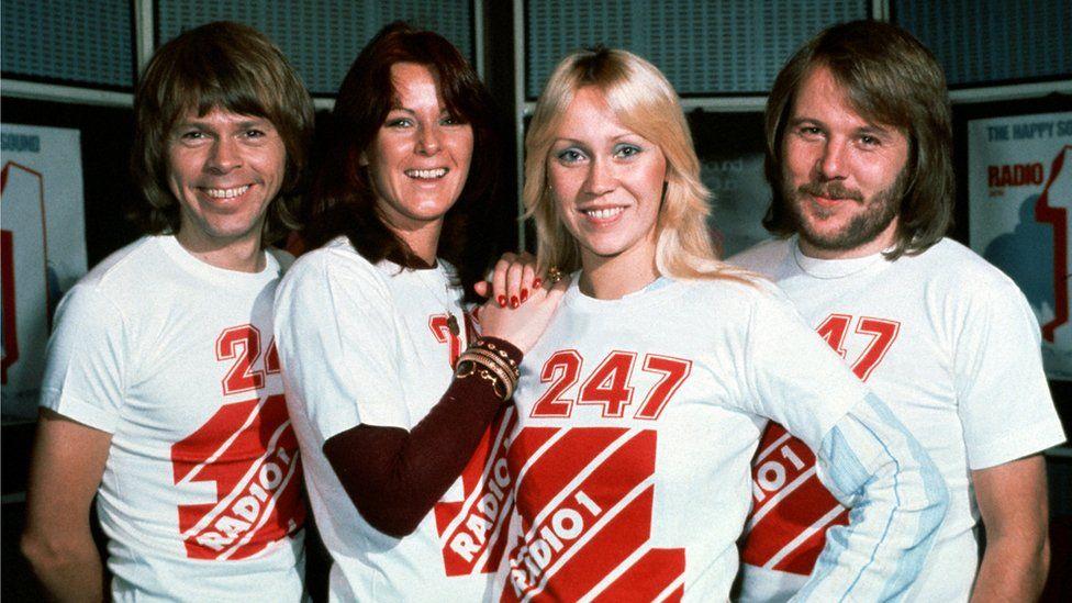 Abba are Björn Ulvaeus, Anni-Frid Lyngstad, Agnetha Fältskog and Benny Andersson