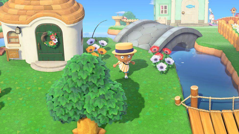 A still from Animal Crossing