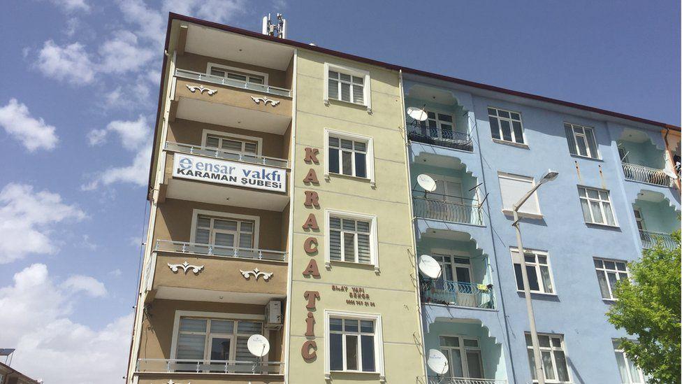 View of Ensar Foundation house in Karaman (April 2016)