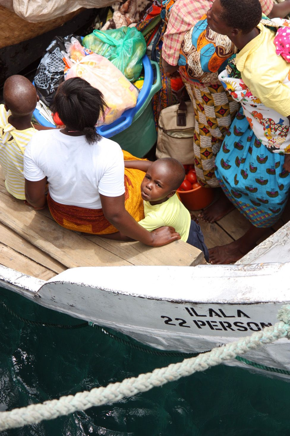 Small boat with passengers