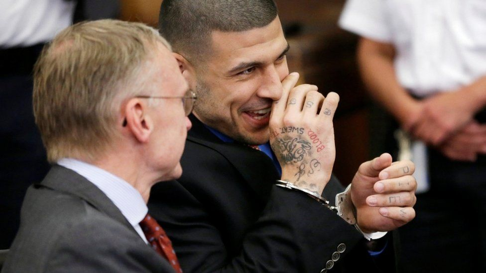 Hernandez cried as the not guilty sentence was read to the court
