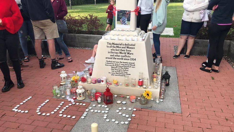 Vigil set up in Aylesham for Lucas Dobson