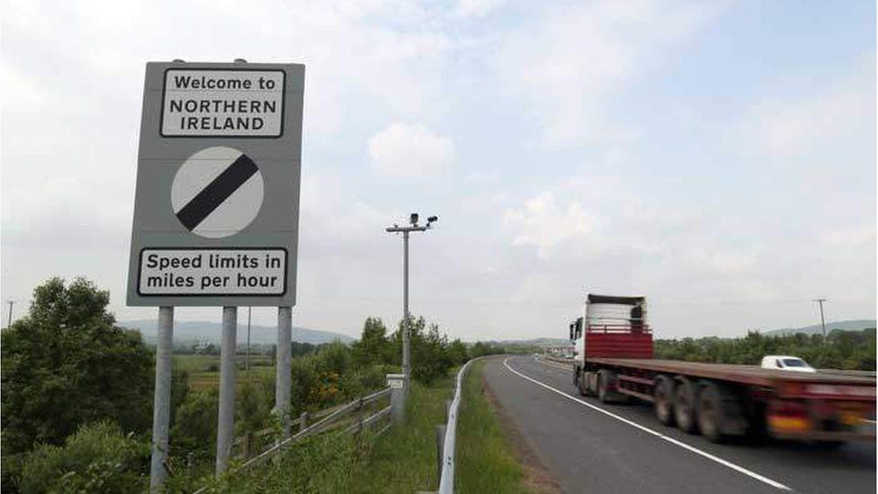 Northern Ireland border