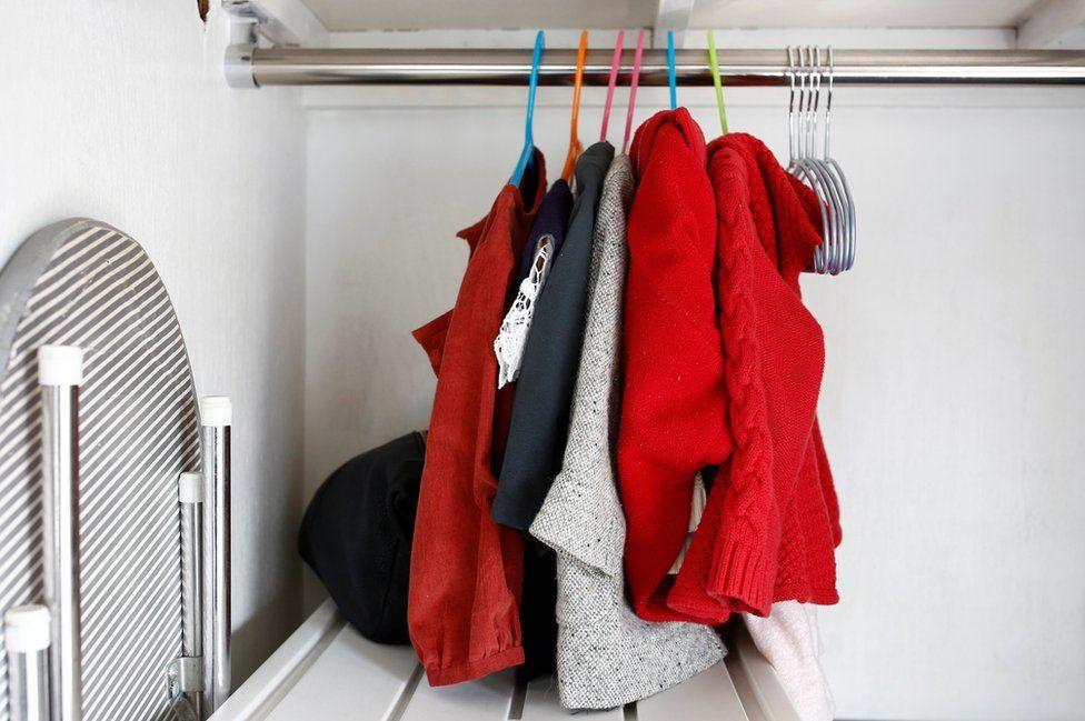Minimalist Naoki Numahata's daughter's clothes