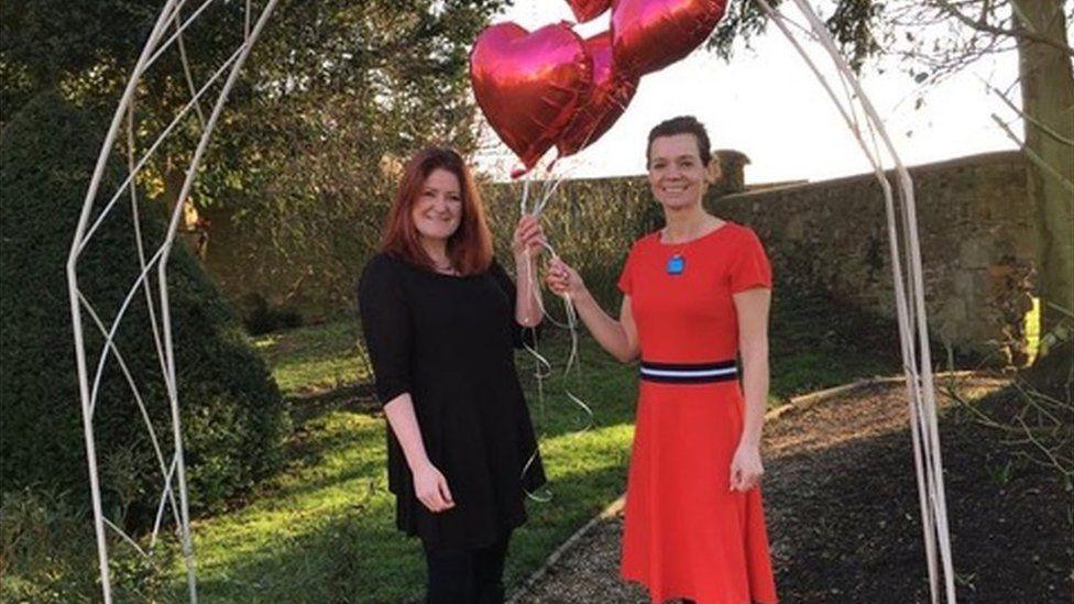 Christine O'Neil and Vicky Baddeley