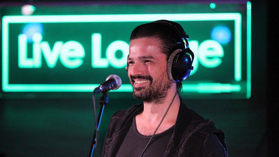 Tomo in the BBC Radio 1 Live Lounge