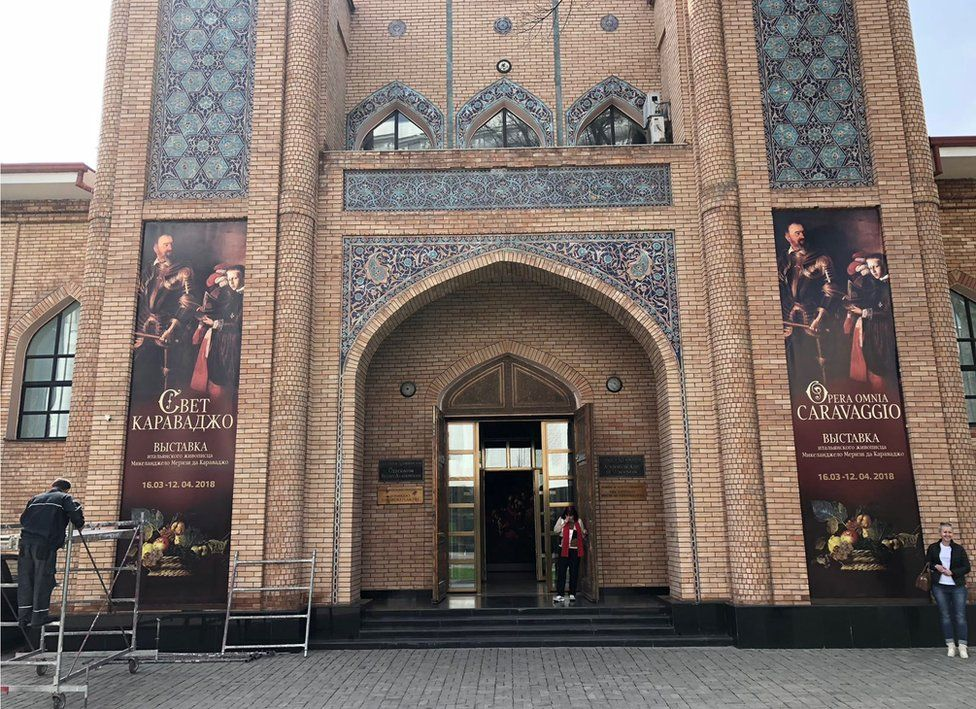 Tashkent Academy of Art, which is currently running an exhibition about Caravaggio