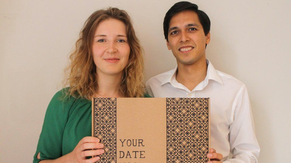 Young entrepreneur Caroline Haegeman and her partner Jai