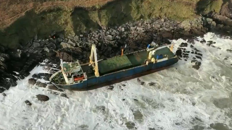 The 80-metre cargo ship Alta was last seen thousands of miles away in 2019