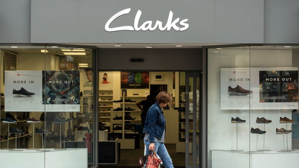 Dar asistente miseria  Clarks shoes rescued in £100m deal with LionRock Capital - BBC News