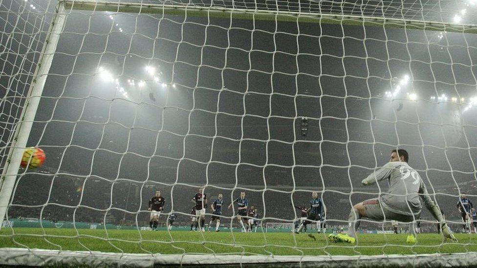 AC Milan v Inter Milan Serie A