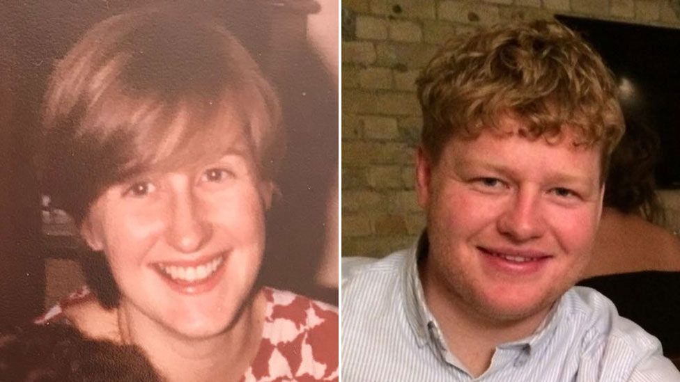 Anne Hayman in her 20s and Will Hayman