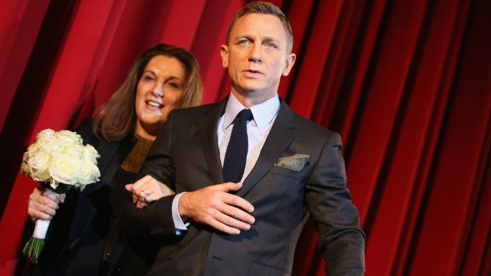 Barbara Broccoli and Daniel Craig