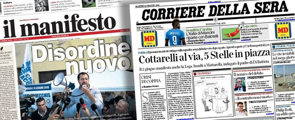 Italian papers - combo image