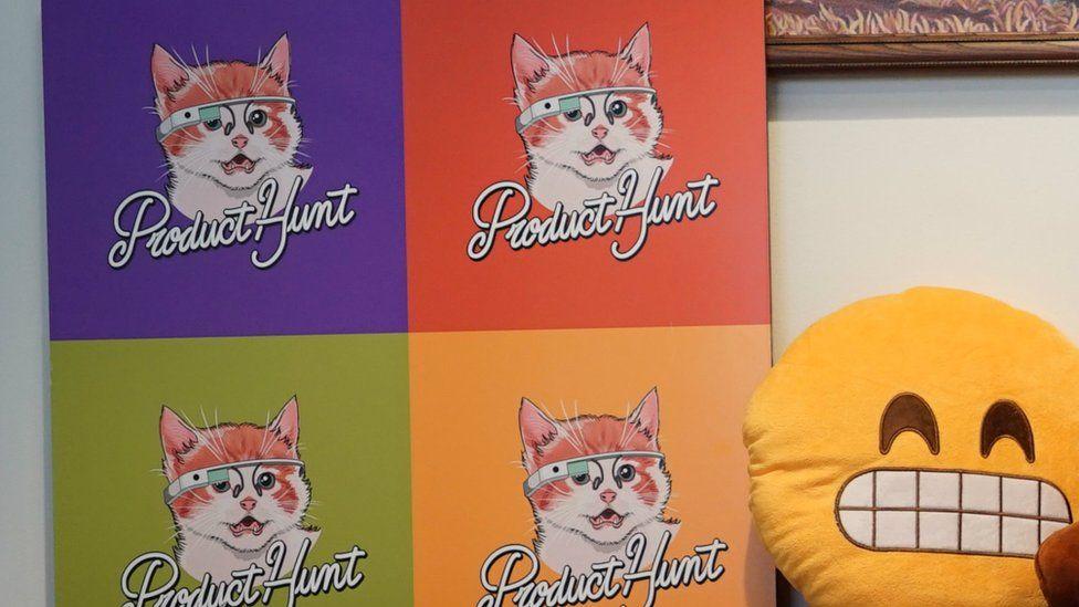 Product Hunt cat logo