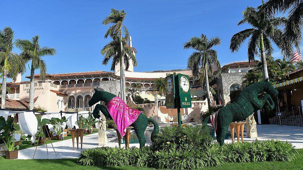 Donald Trump's Mar-a-Lago club in Palm Beach, Florida.