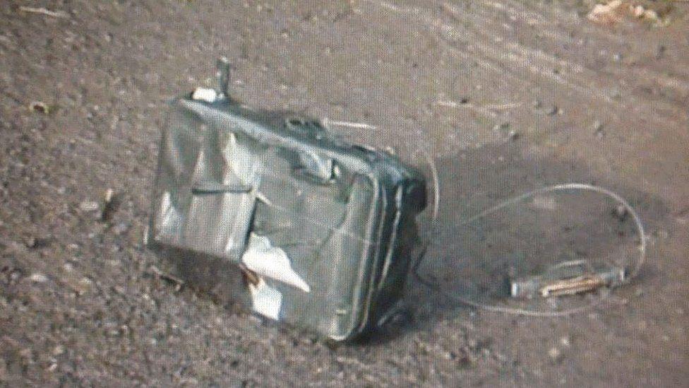 Under-car device