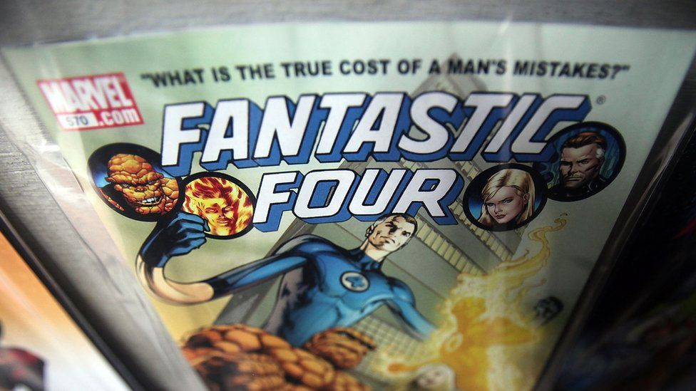 Fantastic Four comic book