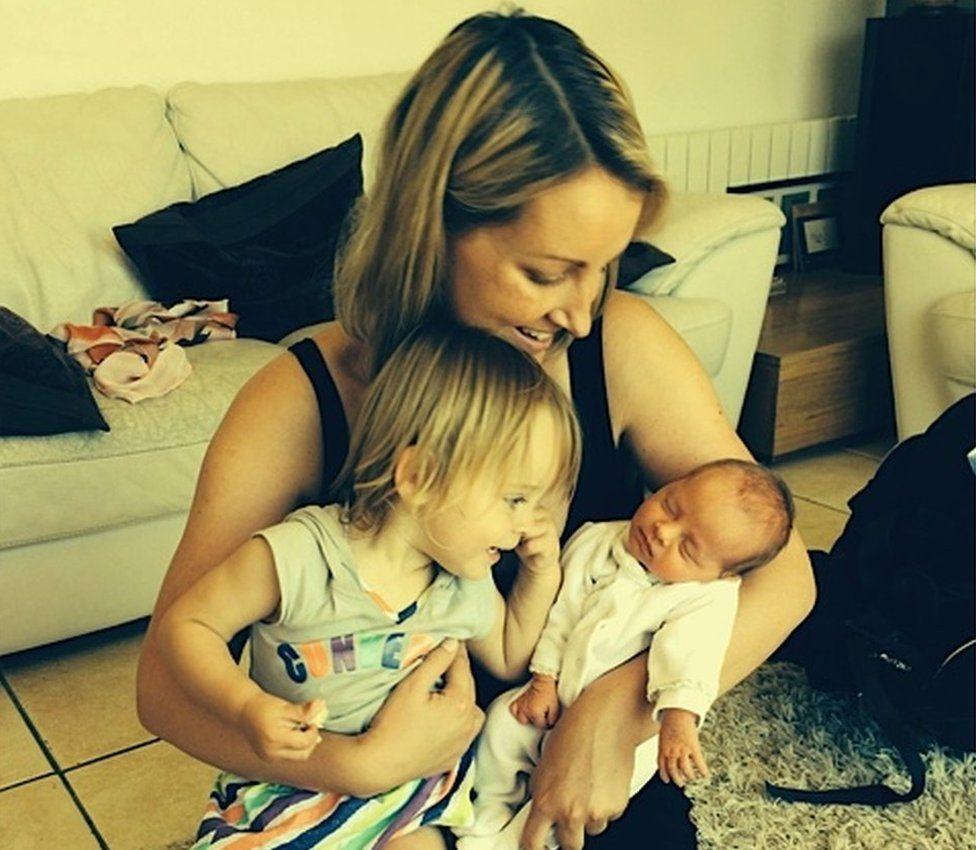 Olivia Siegl with Eve and Isla-Mai