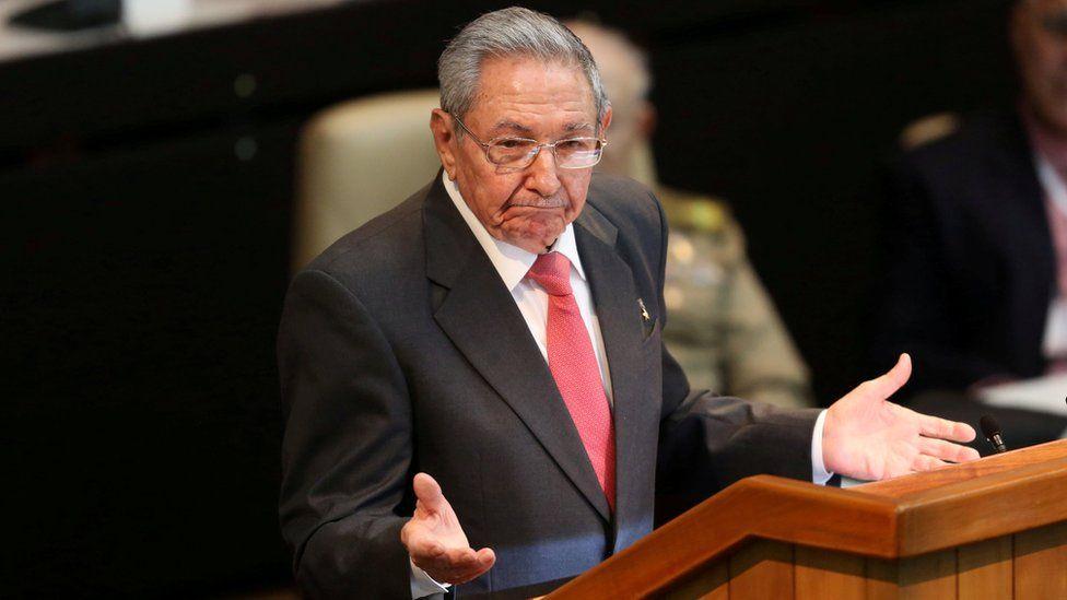 Former President Raúl Castro