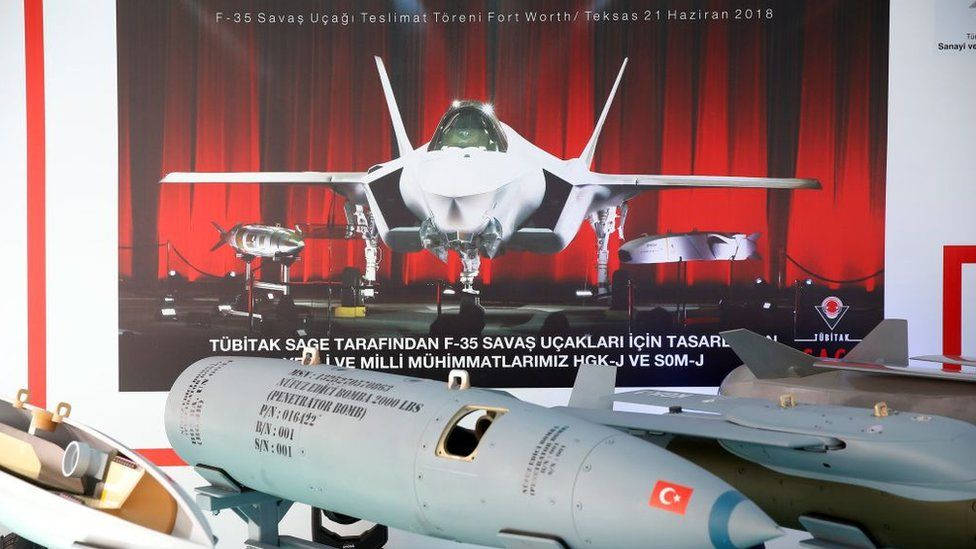 Municiones turcas para los F-35