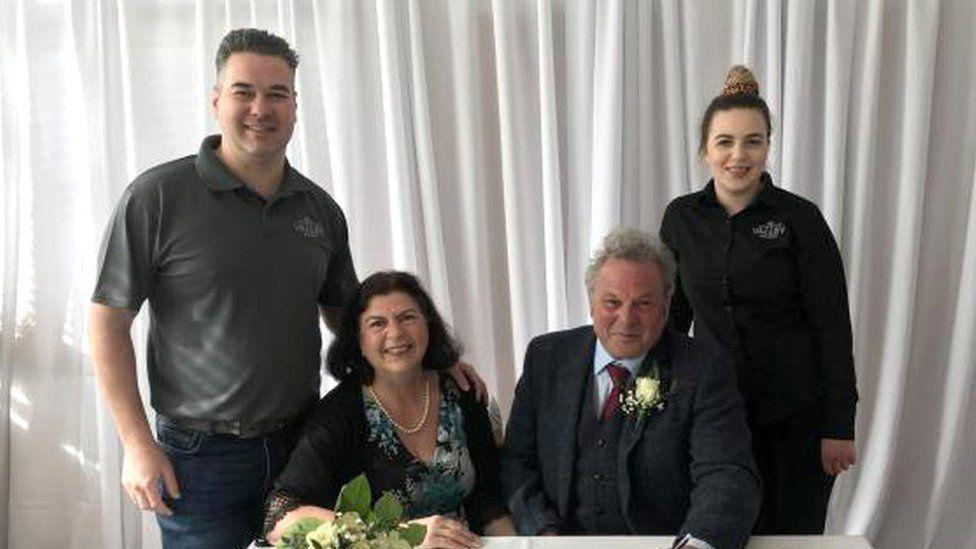 Carol Clegg, Len Carter and their witnesses