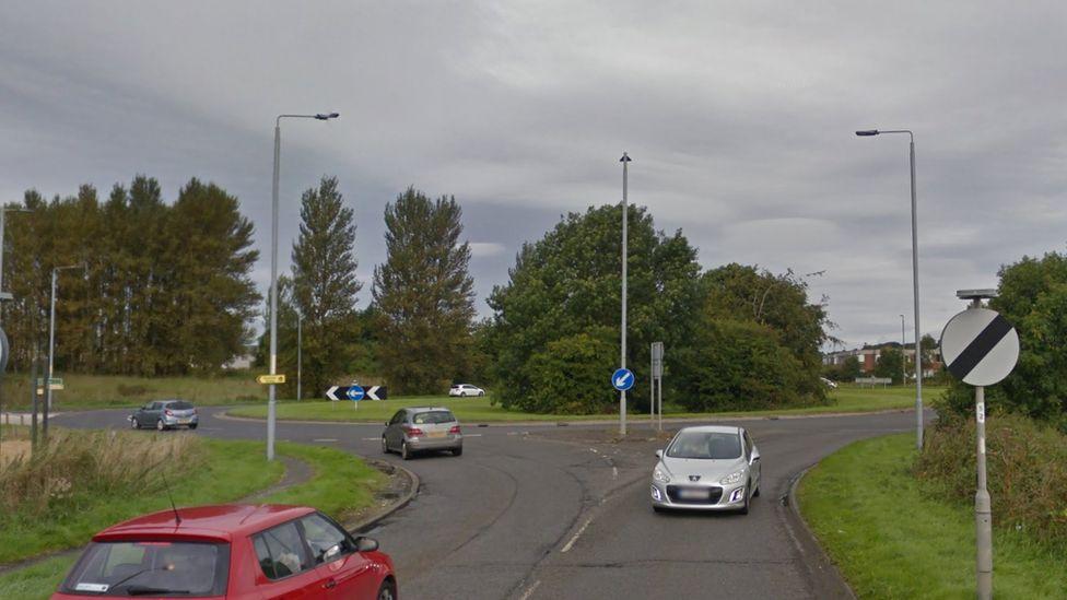 Bankfield roundabout