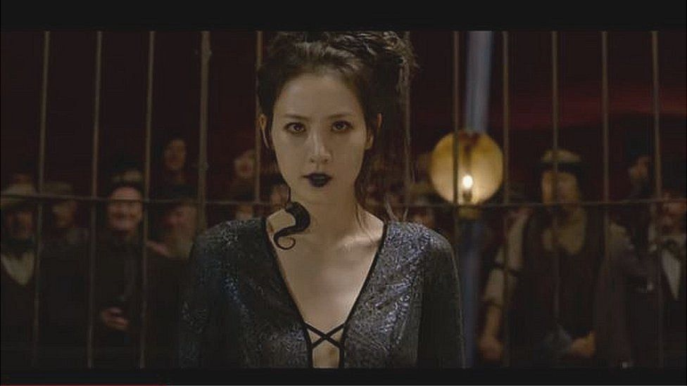Claudia Kim as Nagini