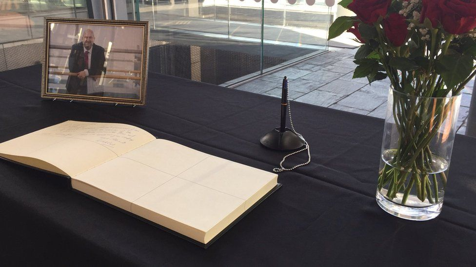Carl Sargeant book of condolence