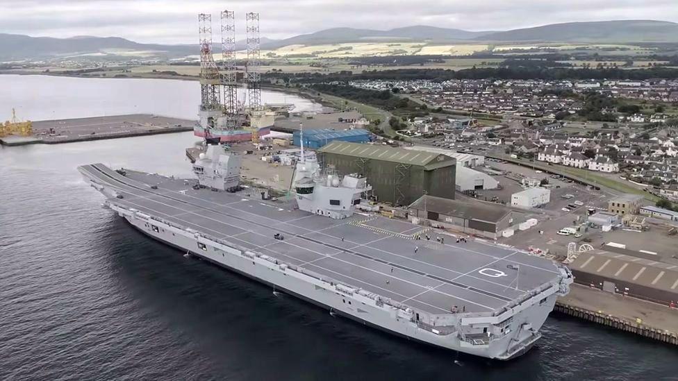 Queen Elizabeth carrier
