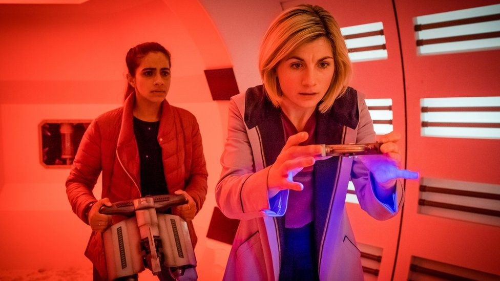 A still from Doctor Who