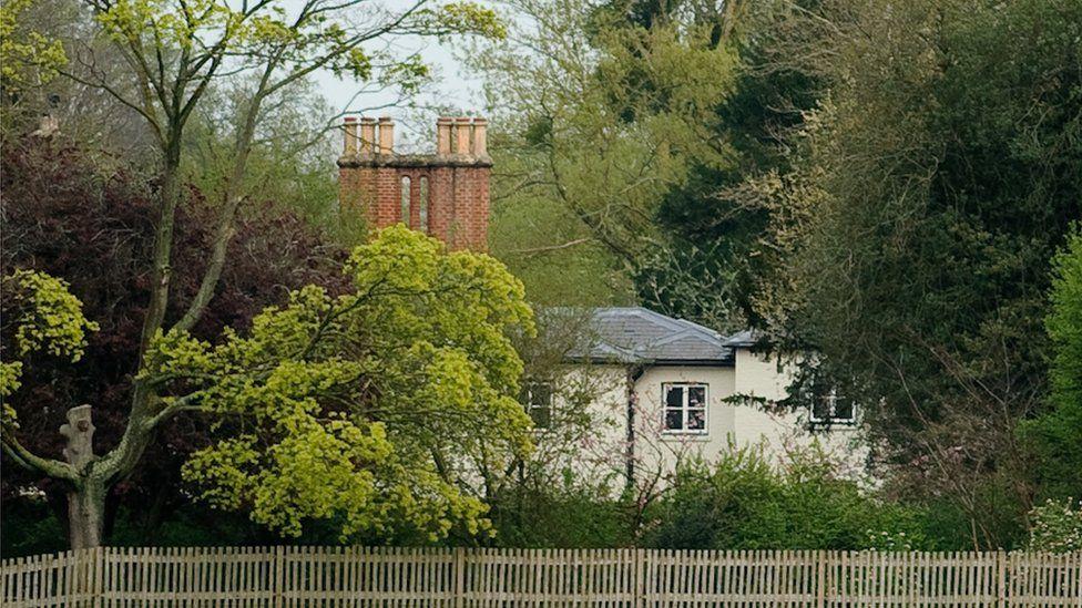Frogmore Cottage in Windsor