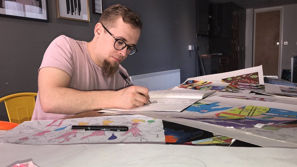 How art helped lift Swansea man out of homelessness