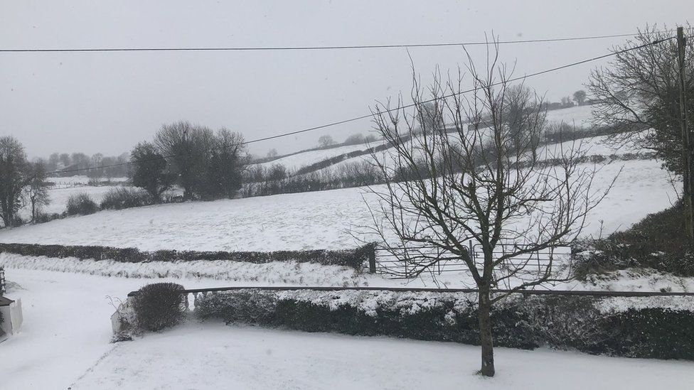 Snow in Armagh