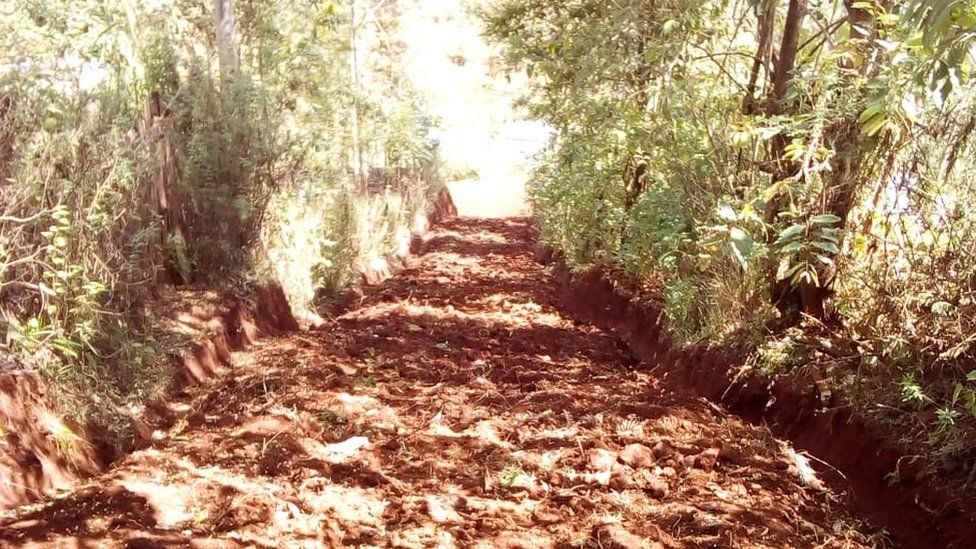 Nicholas Muchami's road