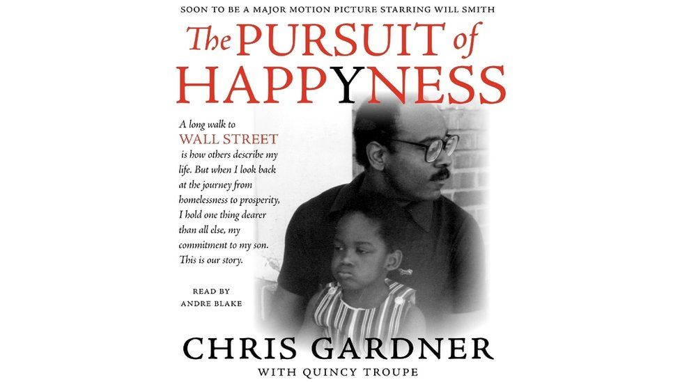 The cover of Chris Gardner's first book