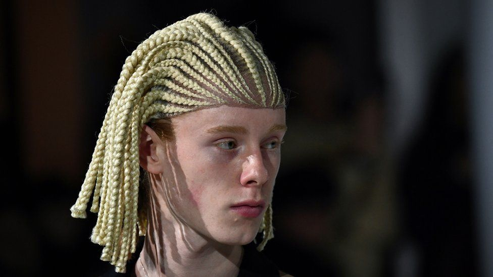 Comme Des Garcons Row Over White Fashion Models Cornrow Wigs Bbc News
