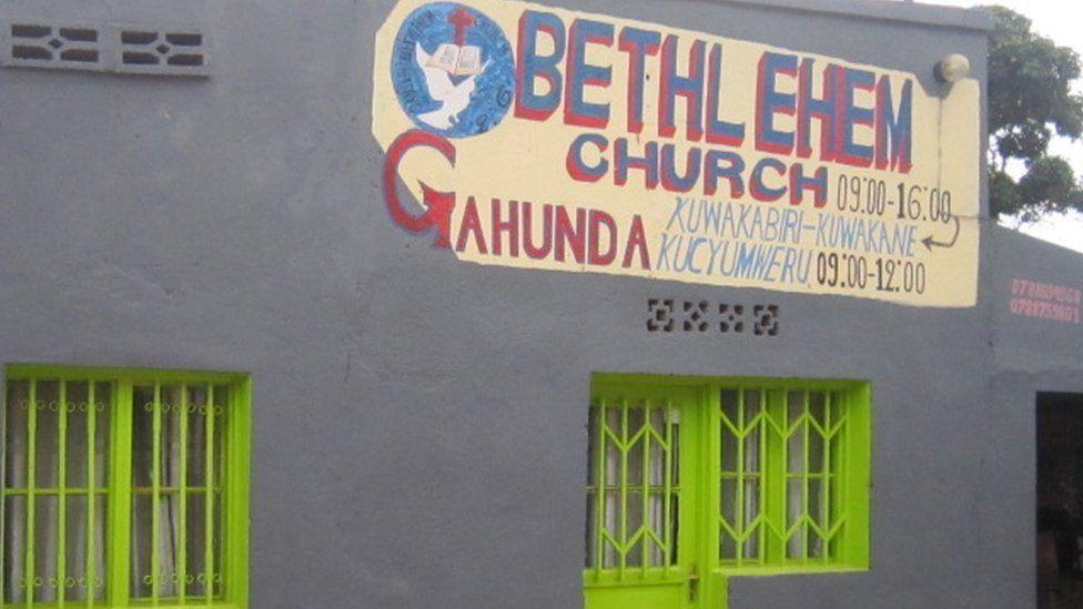 Rwandan church