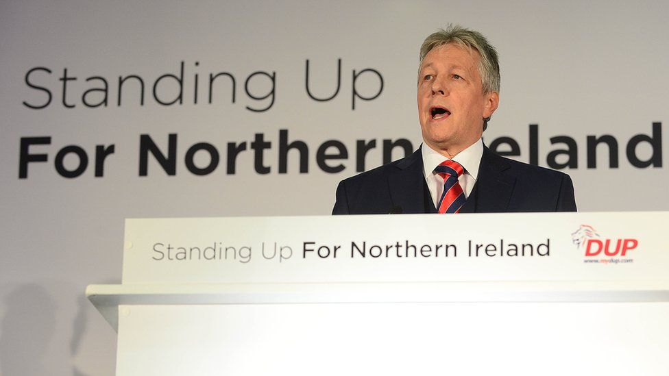 Peter Robinson in 2014