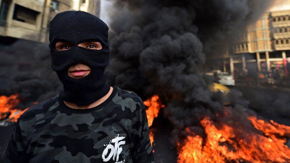 Baghdad protest 01/12