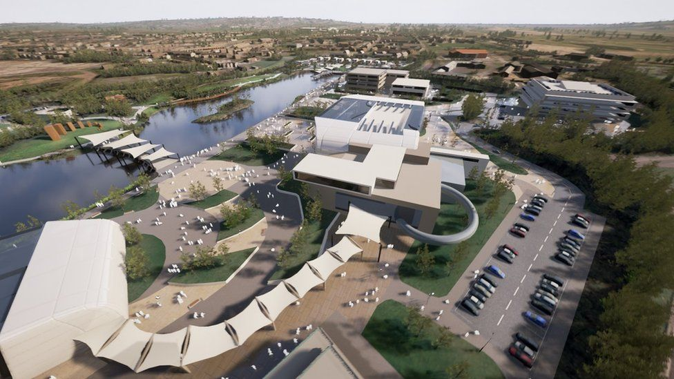 Artist's impression of Wellness and Life Science Village