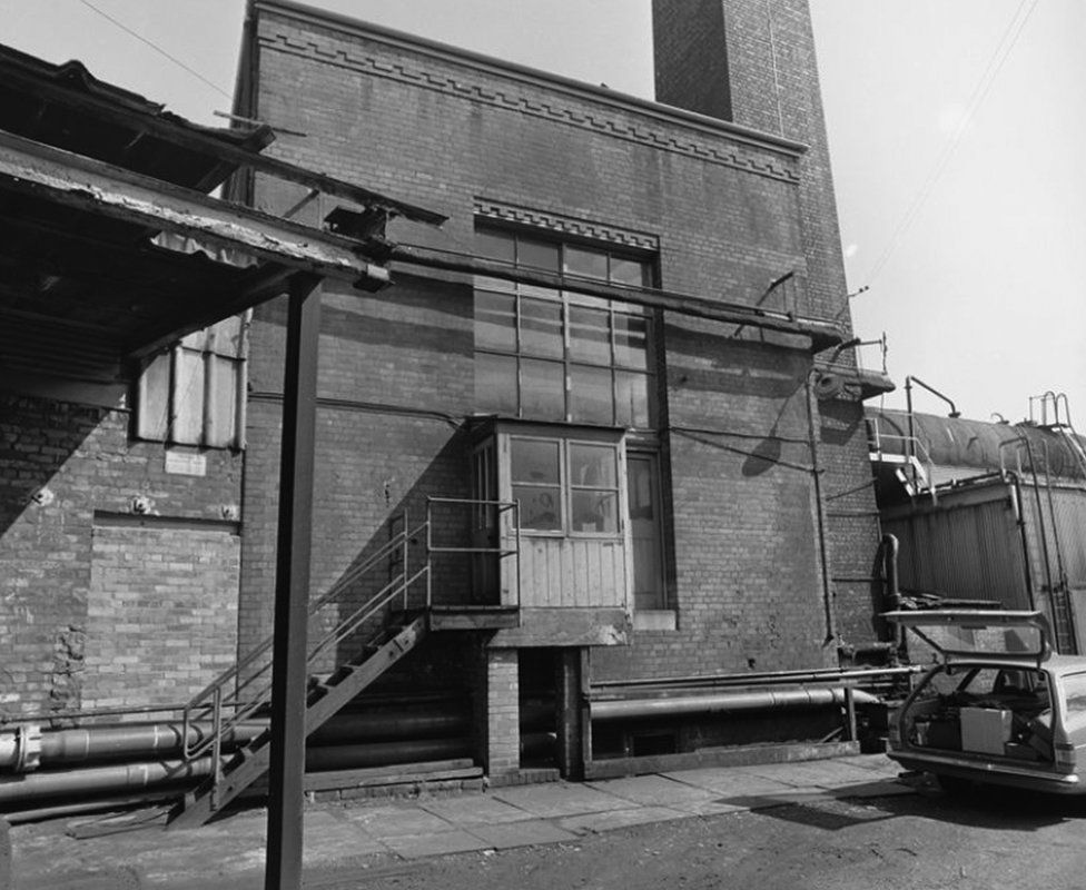 The Hafod-Morfa Copperworks circa 1960