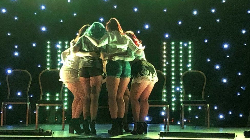 Burlesque troupe Bump N Grind