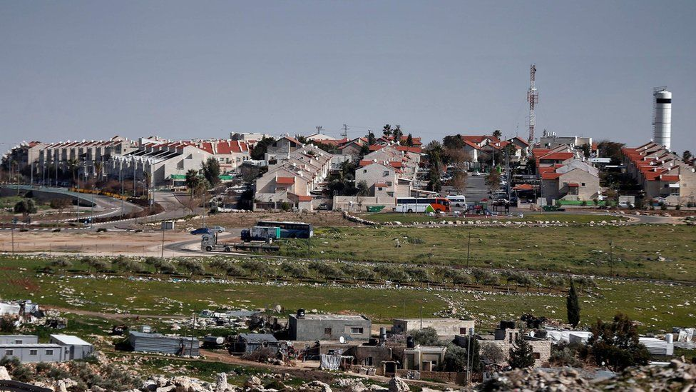 File photo showing Adam settlement, near Ramallah, in the occupied West Bank (30 January 2015)