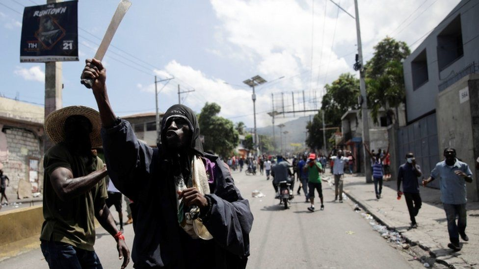 Rising prices, fuel shortages and corruption have fuelled the unrest