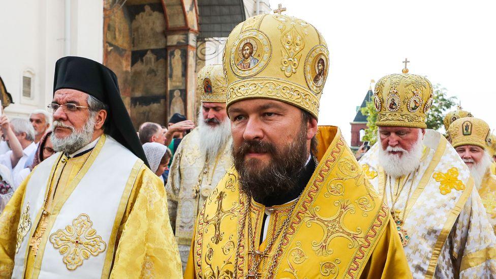 Глава отдела внешних церковных связей РПЦ митрополит Иларион