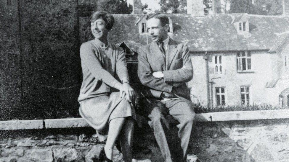 Dorothy and Leonard Elmhirst