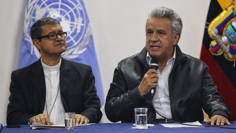 Crisis en Ecuador: el gobierno de Lenín Moreno deroga el decreto que eliminaba el subsidio a los combustibles y se anuncia el fin de las protestas